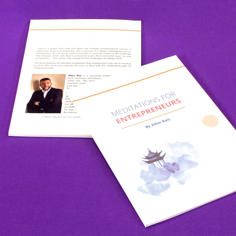 52 Meditations for Entrepreneurs by Allon Raiz
