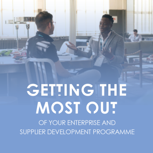 Getting the most out of your ESD programme