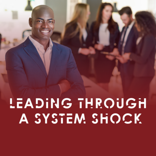 Leading through a system shock